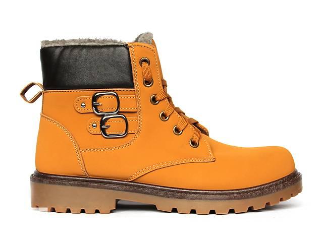 продам Желтые ботинки для мужчин зимние на меху. бу в Днепре (Днепропетровск)
