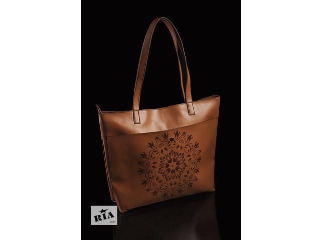 купить бу Женская большая сумка с принтом в Харькове