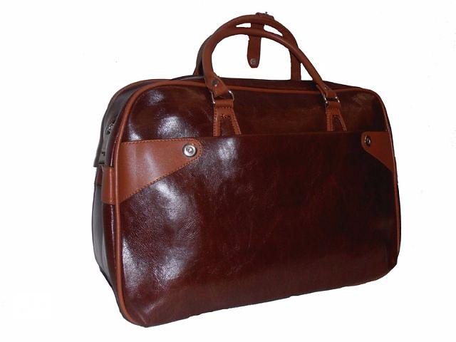 Женская дорожная сумка под кожу. Модель № 006- объявление о продаже  в Харькове