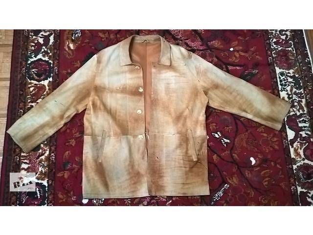 Мужская кожаная куртка lince xl italy- объявление о продаже  в Виннице