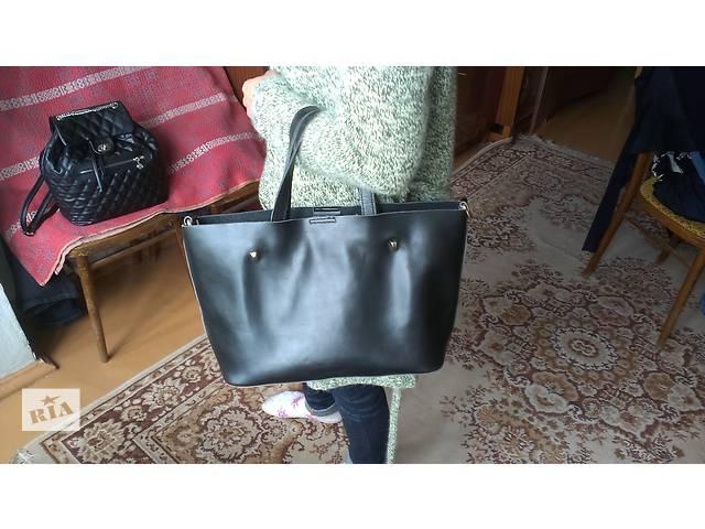 бу Женская кожаная сумка из Италии! в Вышгороде