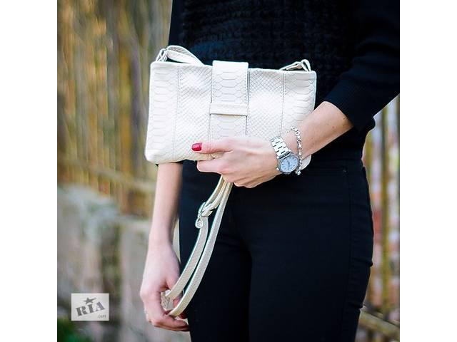 продам Женская кожаная сумочка от украинского производителя бу в Днепре (Днепропетровск)