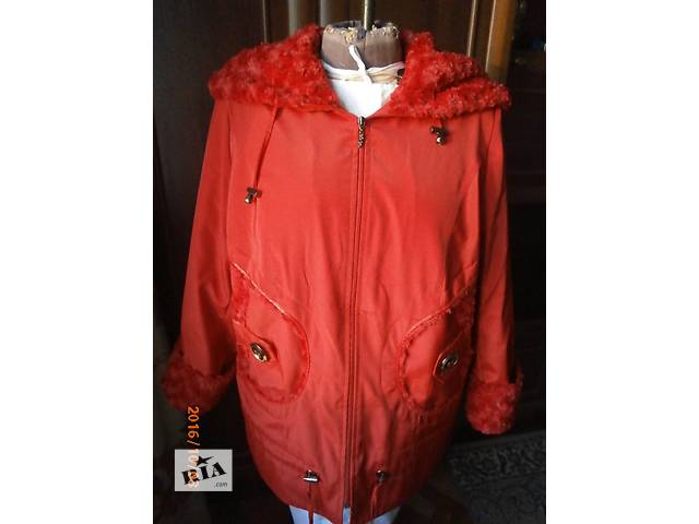 купить бу Женская осенняя куртка 52разм в Киеве