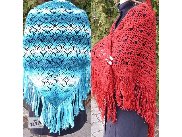 купить бу Женская шаль ручной работы в Ровно