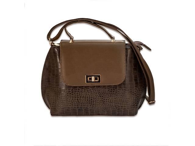 продам Женская сумка MASCO (Маско) Chocolate big clutch бу в Запорожье