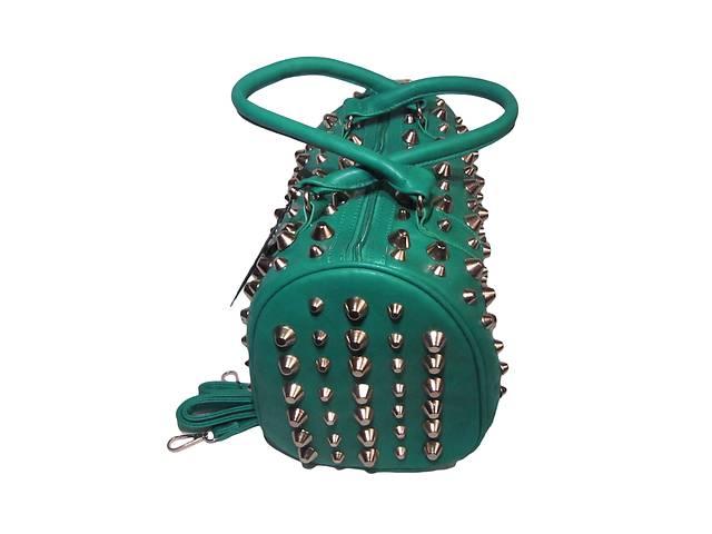 купить бу Женская сумка с шипами LOVE DREAM весенне-зеленый в Киеве