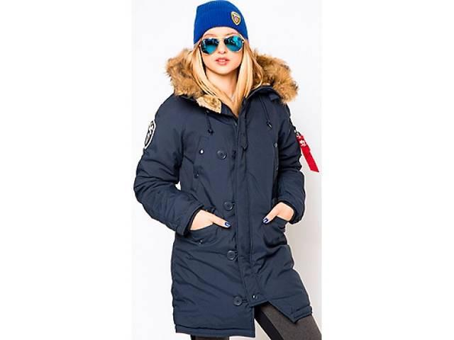 купить бу Женская зимняя куртка аляска altitude w parka альфа индастриз альтитуде парка в Киеве