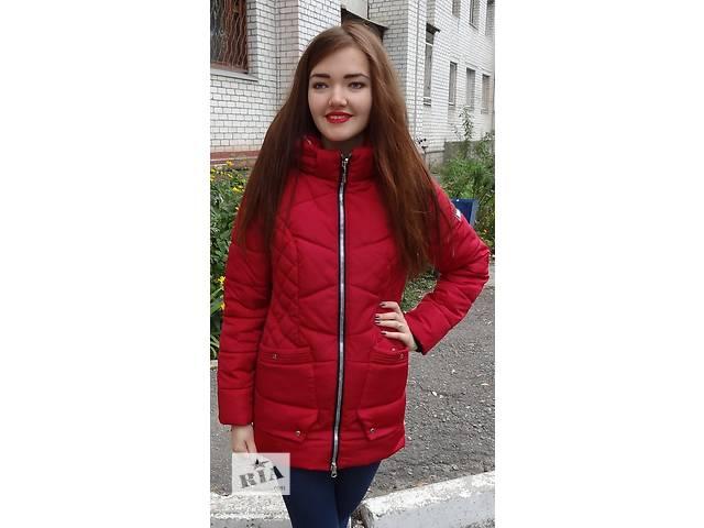 бу Женская зимняя куртка на силиконе в Киеве
