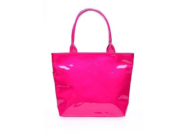 продам Женская розовая лаковая сумка HARD CANDY (pool7-лак-розовая) бу в Одессе
