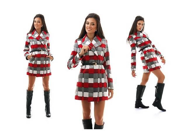 Женское кашемировое пальто клетка оптом от производителя- объявление о продаже  в Одессе