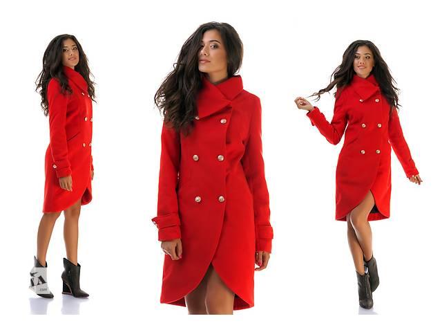бу Женское кашемировое пальто на пуговицах оптом от производителя в Одессе