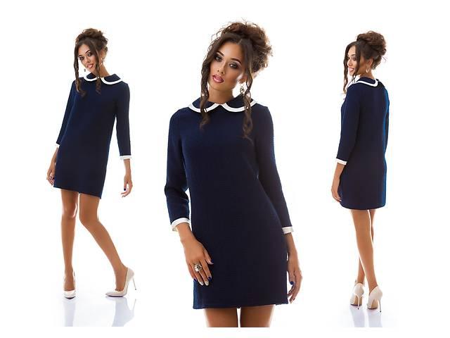 купить бу Женское мини платье с воротником опт от производителя в Одессе