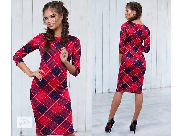 купить бу Женское платье клетка оптом от производителя в Одессе