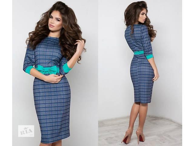 продам Женское платье миди с поясом оптом от производителя бу в Одессе