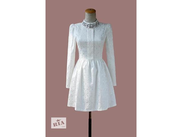 продам Женское платье с длинным рукавом бу в Киеве