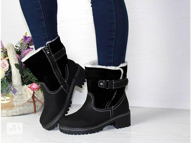 продам Женские ботинки на меху зима бу в Киеве