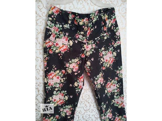 Женские брюки с яркими принтами- объявление о продаже  в Херсоне
