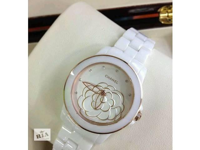 Женские часы Chanel Flower из керамики. Белые и черные!- объявление о продаже  в Одессе