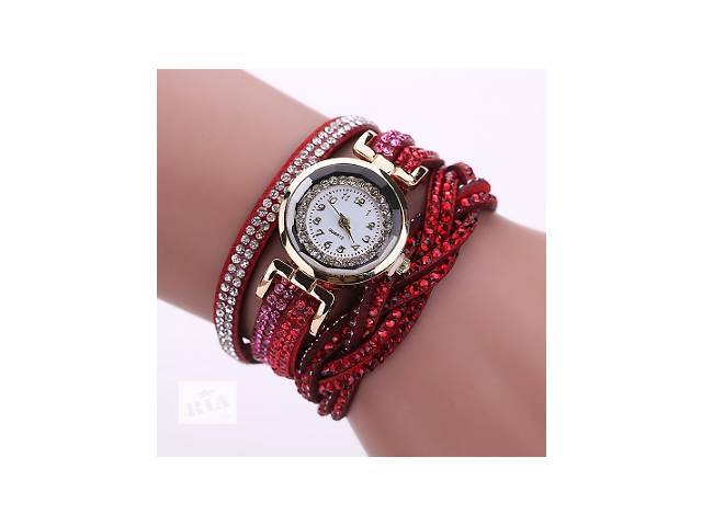 Женские часы со стразами на длинном ремешке- объявление о продаже  в Херсоне