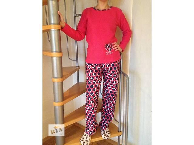 Женские флисовые пижамы Флис р. 48-50- объявление о продаже  в Вышгороде