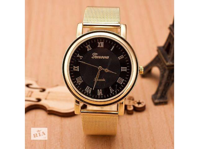 бу Женские наручные часы Geneva ТРИ разновидности! Хорошее качество! В наличии! в Нежине