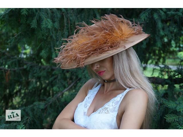 купить бу Женская шляпка ручной работы(Италия) в Одессе