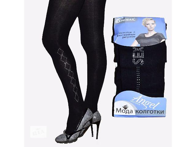 купить бу Женские теплые колготки со стразами оптом в Одессе