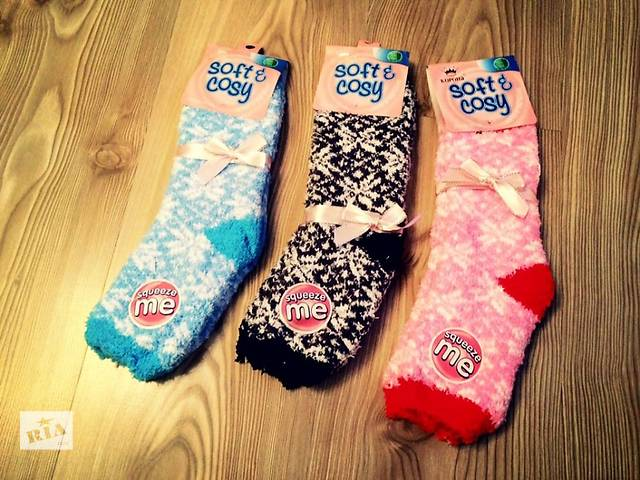 бу Женские Тёплые термо носки для дома подарок ко дню Святого Николая в Днепре (Днепропетровске)