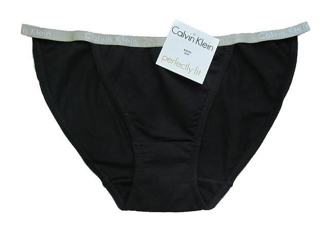 купить бу Женские трусики танга Calvin Klein bikini Perfectly fit. Ткань хлопок. в Харькове