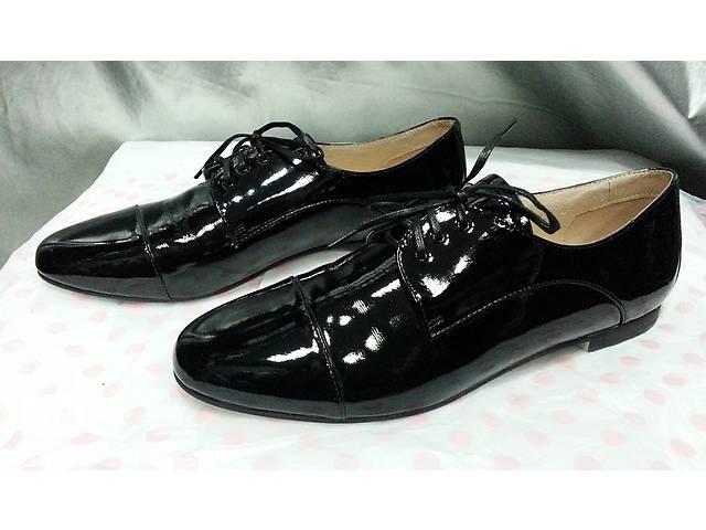 Женские туфли Attizzare ( Португалия ), новые, кожаные, лакированные, цвет - черный.- объявление о продаже  в Киеве