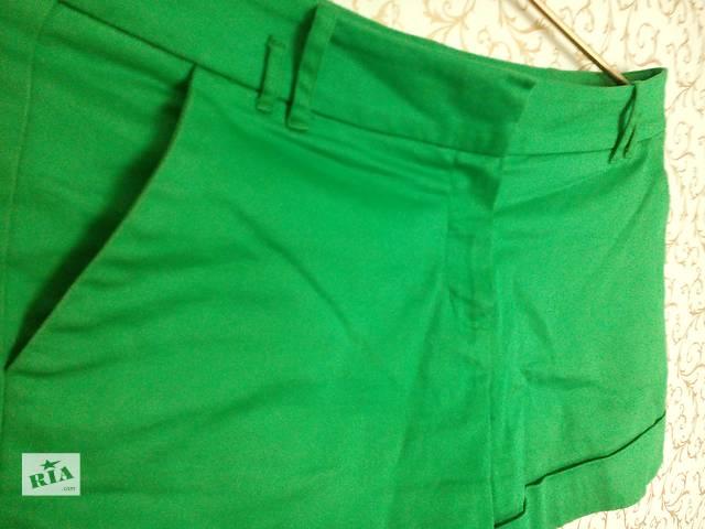 Женские зелёные шорты- объявление о продаже  в Херсоне