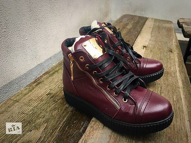 продам Женские зимние ботинки Zanotti бу в Киеве
