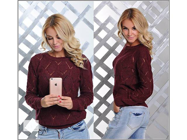бу Женский ажурный свитер  в Одессе