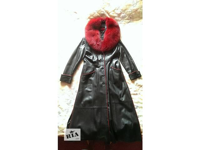 купить бу женский кожаный плащ в Северодонецке