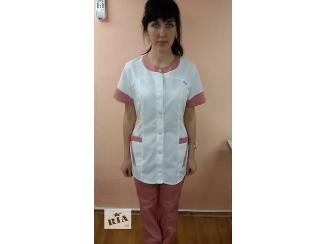 Женский медицинский костюм на пуговицах ( короткий рукав )- объявление о продаже  в Барышевке