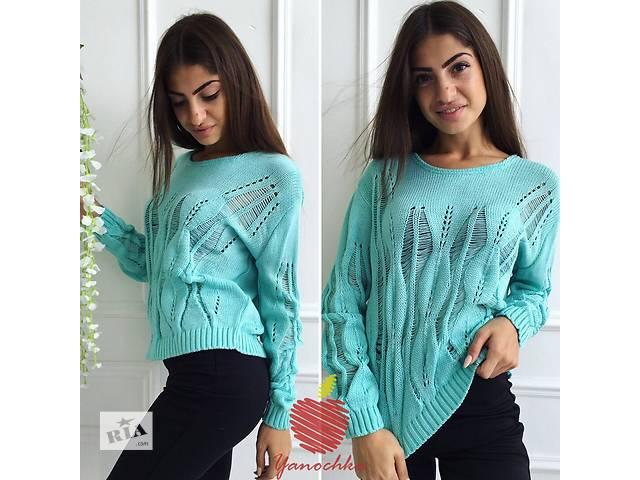 купить бу Женский свитер ажурный в Одессе
