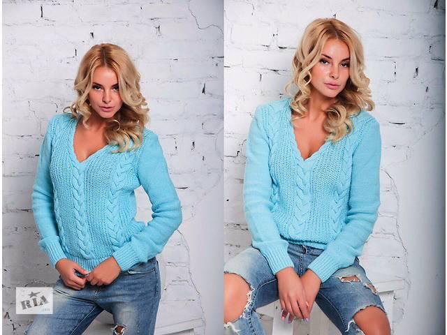 Женский теплый свитер- объявление о продаже  в Одессе