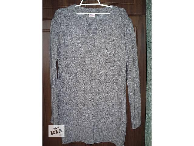 Женский удлинённый свитер- объявление о продаже  в Харькове