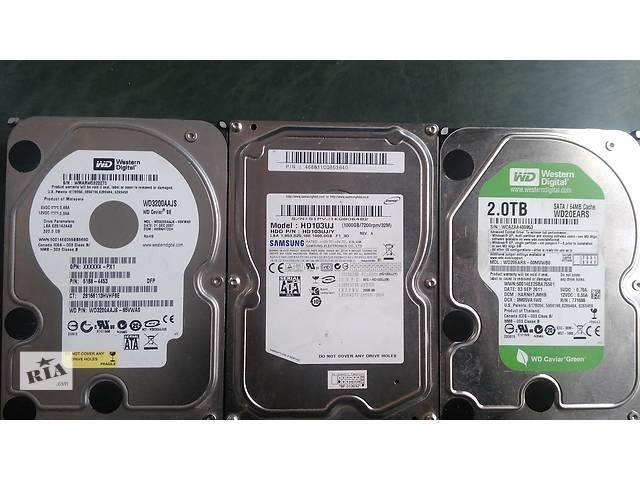 купить бу Жесткие диски Samsung и Western Digital от 320 Гб до 2000Гб в Киеве