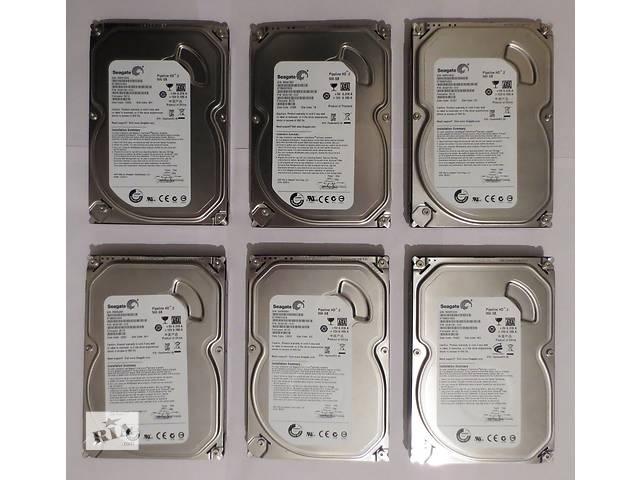 Жесткий диск (HDD, винчестер) Seagate 500 GB (Гбайт) SATA 2 (6 штук)- объявление о продаже  в Хмельницком