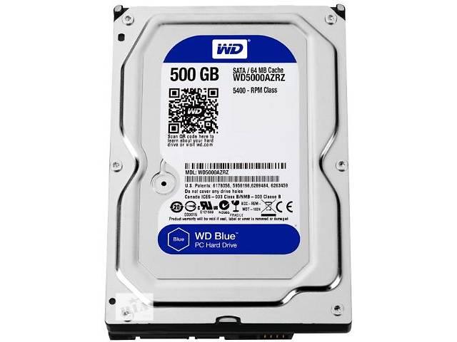 Жесткий диск HDD WD 3.5 0.5TB 5400rpm 64MB SATA 3.0 Blue- объявление о продаже  в Киеве
