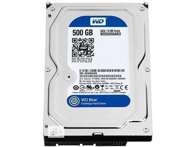 продам Жесткий диск HDD WD 3.5 0.5TB 7200rpm 16MB SATA 3.0 Blue бу в Киеве
