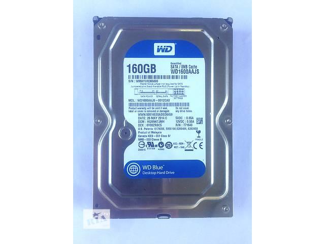 бу Жесткий диск SATAII 160 Gb Western Digital в Краматорске