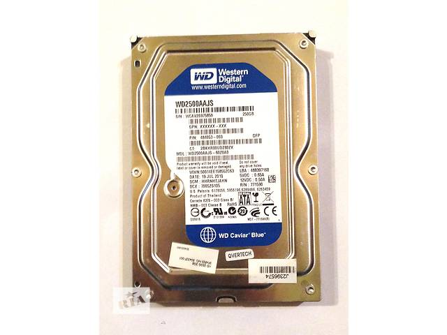 продам Жесткий диск SATAII 250 Gb Western Digital бу в Краматорске