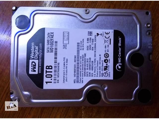 Жесткий диск WD Black 1TB WD1002FAEX 64MB- объявление о продаже  в Киеве