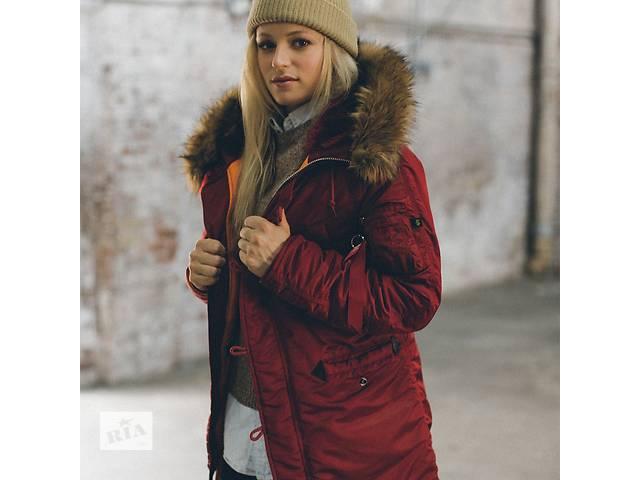 купить бу Женская зимняя куртка аляска N-3B W Parka Alpha Industries, США в Львове