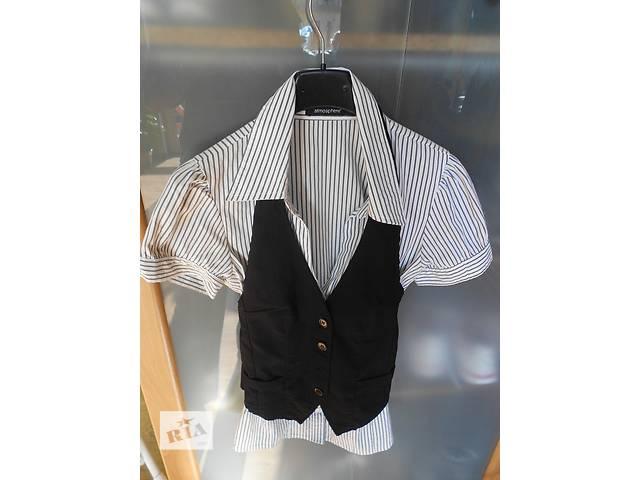 Женская рубашка с желеткою/рубашка- объявление о продаже  в Львове