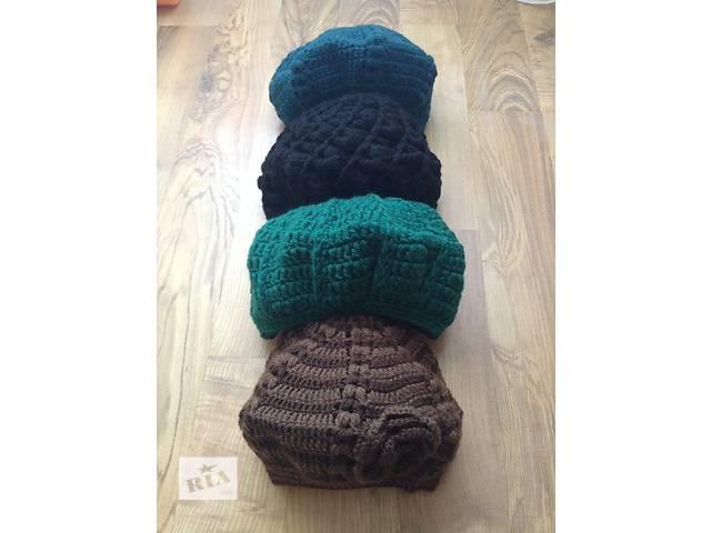 жіноча вязание (крючком ) берети- объявление о продаже  в Ужгороде