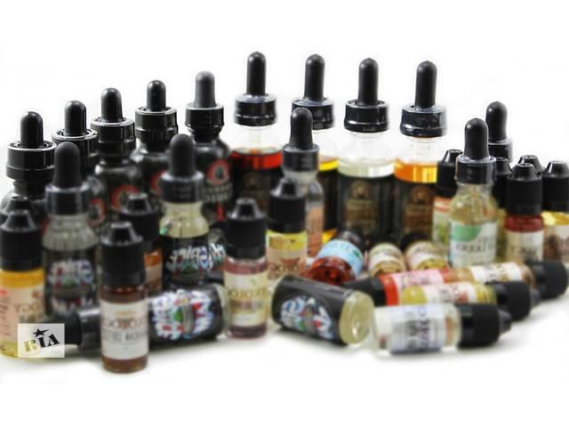 продам Жидкость для  электронных сигарет бу в Полтаве