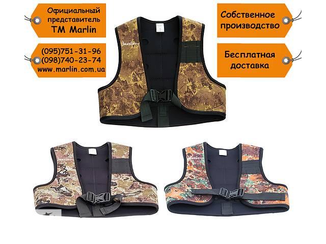 Жилет грузовой Marlin Vest green/brown/oliva- объявление о продаже  в Мариуполе (Донецкой обл.)